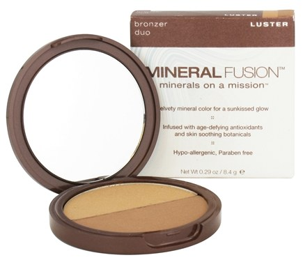 DROPPED: Mineral Fusion - Bronzer Duo Luster - 0.29 oz. CLEARANCE PRICED
