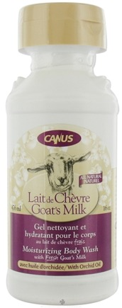 DROPPED: Canus - Goat's Milk Moisturizing Body Wash with Orchid Oil - 16 oz. CLEARANCE PRICED