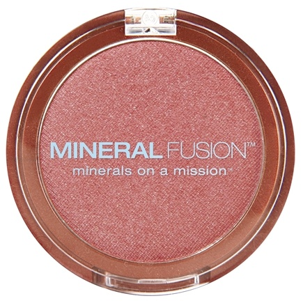 DROPPED: Mineral Fusion - Cheeks Blush Powder Airy - 0.1 oz. CLEARANCE PRICED