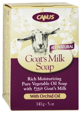 DROPPED: Canus - Goat's Milk Bar Soap with Orchid Oil - 5 oz.