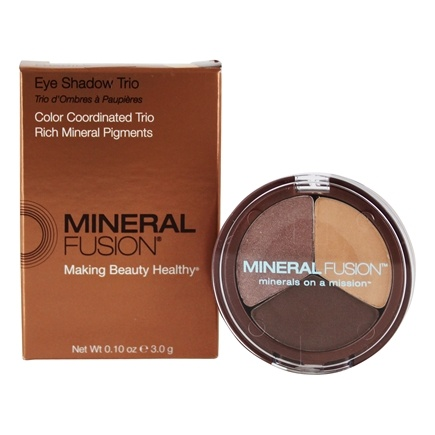 Mineral Fusion - Eye Shadow Trio Fragile - 0.1 oz.