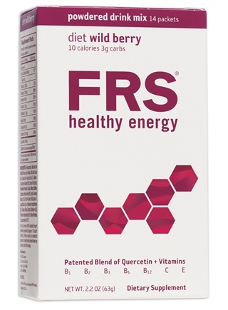 DROPPED: FRS Healthy Energy - Powdered Drink Mix Diet Wild Berry - 14 Packet(s) CLEARANCE PRICED