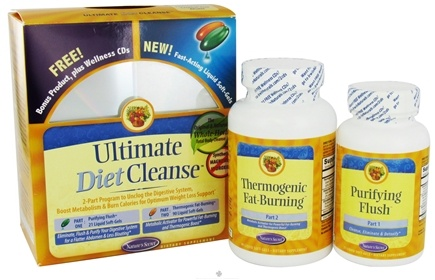DROPPED: Nature's Secret - Ultimate Diet Cleanse 21 Softgels + 90 Softgels Kit