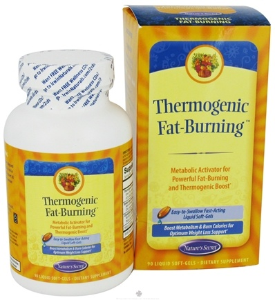 DROPPED: Nature's Secret - Thermogenic Fat-Burning - 90 Softgels CLEARANCE PRICED