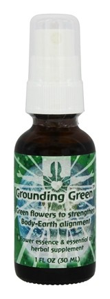 Flower Essence Services - Grounding Green Spray - 1 oz.
