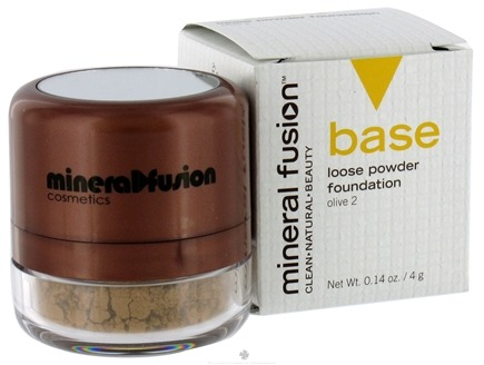 DROPPED: Mineral Fusion - Base Loose Powder Foundation Olive 2 - 0.14 oz. CLEARANCE PRICED