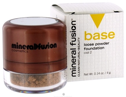 DROPPED: Mineral Fusion - Base Loose Powder Foundation Cool 2 - 0.14 oz. CLEARANCE PRICED