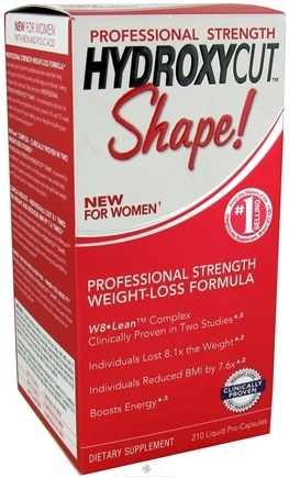 Zoom View - Hydroxycut Shape For Women Professional Strength Weight Loss Formula