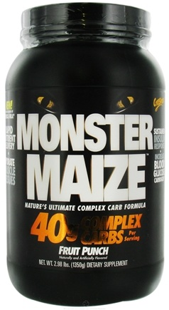 DROPPED: Cytosport - Monster Maize Ultimate Complex Carb Formula Fruit Punch - 2.98 lbs. CLEARANCE PRICED