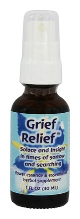 DROPPED: Flower Essence Services - Grief Relief Formula - 1 oz.