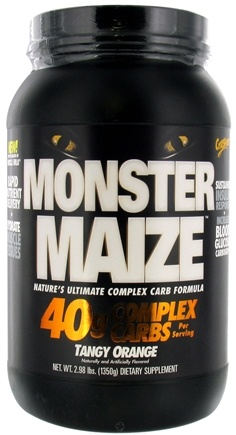 DROPPED: Cytosport - Monster Maize Ultimate Complex Carb Formula Tangy Orange - 2.98 lbs. CLEARANCE PRICED