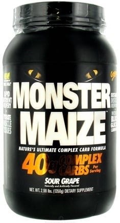 DROPPED: Cytosport - Monster Maize Ultimate Complex Carb Formula Sour Grape - 2.98 lbs. CLEARANCE PRICED