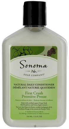 DROPPED: Sonoma Soap - Natural Daily Conditioner First Crush - 12 oz.