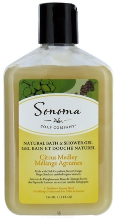 DROPPED: Sonoma Soap - Natural Bath & Shower Gel Citrus Medley - 12 oz. CLEARANCE PRICED