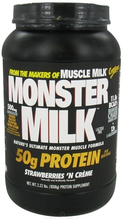 DROPPED: Cytosport - Monster Milk Ultimate Muscle Formula Strawberry N Creme - 2.22 lbs. CLEARANCE PRICED