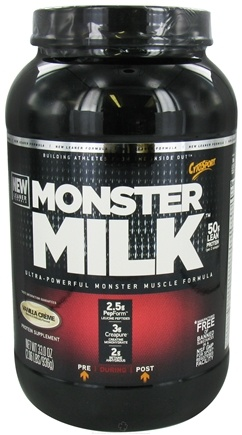 DROPPED: Cytosport - Monster Milk Ultra-Powerful Monster Muscle Formula Vanilla Creme - 2.2 lbs. CLEARANCE PRICED