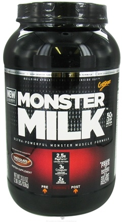 DROPPED: Cytosport - Monster Milk Ultra-Powerful Monster Muscle Formula Chocolate - 2.2 lbs. CLEARANCE PRICED