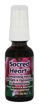 DROPPED: Flower Essence Services - Sacred Heart - 1 oz.