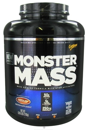 DROPPED: Cytosport - Monster Mass Gaining Formula with mTOR Activators Chocolate - 5.95 lbs.