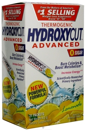 Zoom View - HydroxyCut Advanced Drink Mix