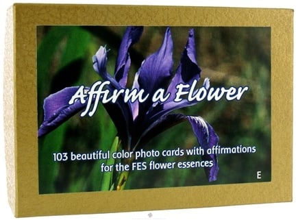 Zoom View - Affirm A Flower Affirmation Card Set English - 103 Cards