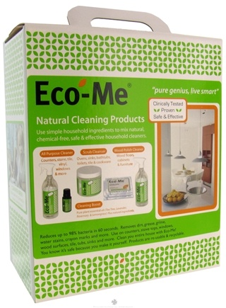Zoom View - Natural Cleaning Products Starter Kit