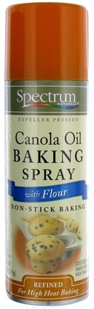 DROPPED: Spectrum Essentials - Canola Oil Baking Spray with Flour - 5 oz. CLEARANCE PRICED