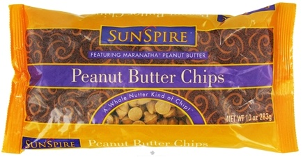 DROPPED: SunSpire - Peanut Butter Chips - 10 oz.