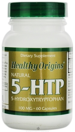 DROPPED: Healthy Origins - Natural 5-HTP 100 mg. - 60 Capsules CLEARANCE PRICED