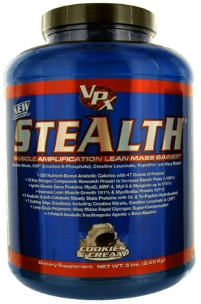 DROPPED: VPX - Stealth Lean Mass Gainer Cookies & Cream - 5 lbs. CLEARANCE PRICED