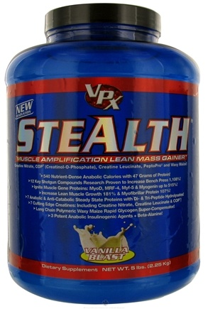 DROPPED: VPX - Stealth Lean Mass Gainer Vanilla Blast - 5 lbs. CLEARANCE PRICED