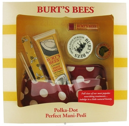 DROPPED: Burt's Bees - Polka Dot Perfect Mani-Pedi Gift Set - CLEARANCE PRICED