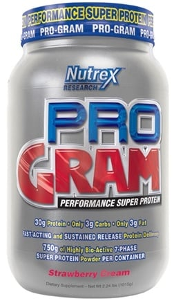 DROPPED: Nutrex - Pro-Gram Strawberry Cream - 2.48 lbs. CLEARANCE PRICED
