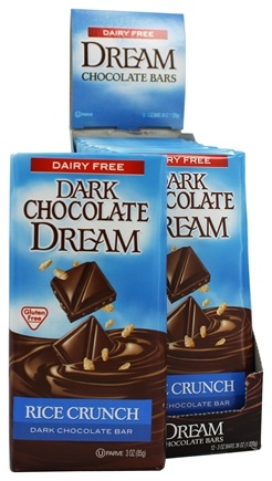 DROPPED: Dream - Dark Chocolate Bar Rice Crunch - 3 oz.