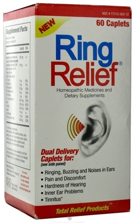DROPPED: TRP Company - Ring Relief Dual Delivery Oral Caplets - 60 Caplets