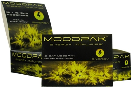 DROPPED: Moodpak - Energy Amplifier - 10 Capsules CLEARANCE PRICED