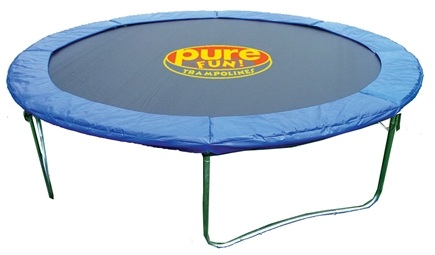 DROPPED: Pure Fun Trampolines - Outdoor Trampoline 9012T - 12 ft.