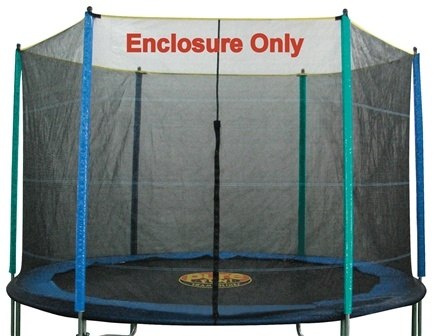 Zoom View - Enclosure and Safety Net for Trampoline 9113E