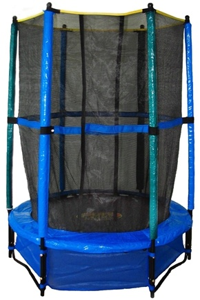 DROPPED: Pure Fun Trampolines - Kid's Trampoline Set with Enclosure and Safety Net 9005TS - 55 in. CLEARANCE PRICED