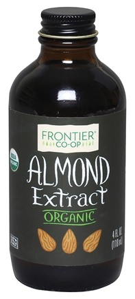 Frontier Natural Products - Organic Extract Almond - 4 oz.