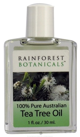 Zoom View - Rainforest Botanicals 100% Pure Australian Tea Tree Oil