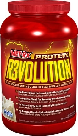 DROPPED: MET-Rx - Protein Revolution Powder Vanilla - 2.5 lbs. CLEARANCE PRICED