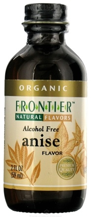 DROPPED: Frontier Natural Products - Organic Alcohol-Free Flavor Anise - 2 oz. CLEARANCE PRICED