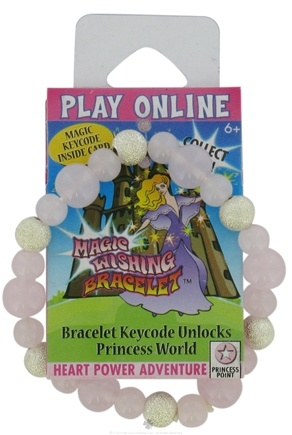 Zoom View - Children's Magic Wishing Bracelet Heart Power Adventure