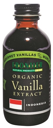 DROPPED: Frontier Natural Products - Gourmet Indonesian Organic Extract Vanilla - 2 oz. CLEARANCE PRICED