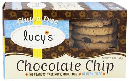Lucy's - Gluten-Free Cookies Chocolate Chip - 5.5 oz.
