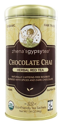 Zoom View - Harvest Herb Tea Chocolate Chai Caffeine Free