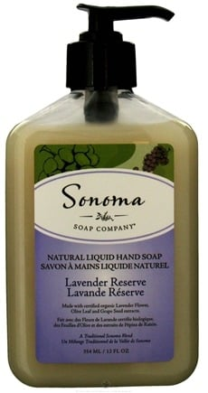 DROPPED: Sonoma Soap - Natural Liquid Hand Soap Lavender Reserve - 12 oz. CLEARANCE PRICED