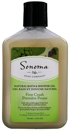 DROPPED: Sonoma Soap - Natural Bath & Shower Gel First Crush - 12 oz. CLEARANCE PRICED