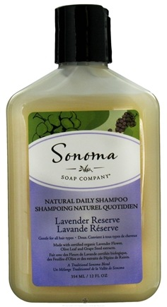 DROPPED: Sonoma Soap - Natural Daily Shampoo Lavender Reserve - 12 oz. CLEARANCE PRICED